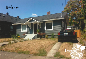 Montavilla Neighborhood in Portland Oregon before Landscape Design in a Day