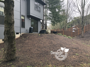 Before Modern Deck Design West Slope Portland Oregon