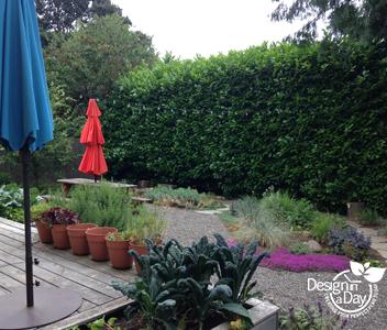 Portland Backyard Landscape Design Renovation In Foster Powell Neighborhood Landscape Design In A Day