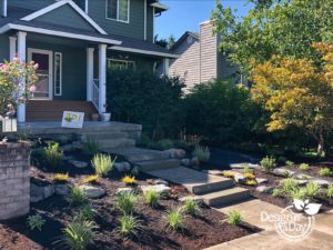 Vancouver low-maintenance landscape design entry