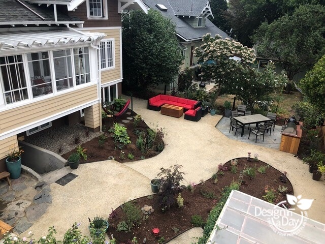 Outdoor Living Landscape Design has wide paths and easy access