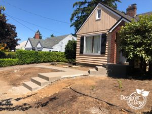 Hardscape Landscaping installed in Beaumont Neighborhood
