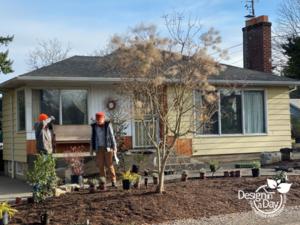 N Portland ranch home gets landscape update
