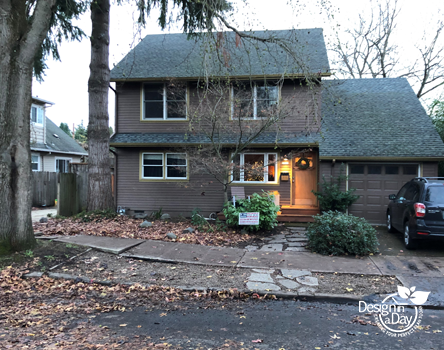 After Portland property removed nuisance trees they wanted a drought tolerant landscape.