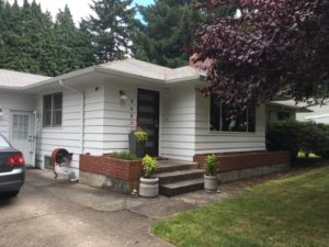 Ranch Style in Portland gets curb appeal Before Photo