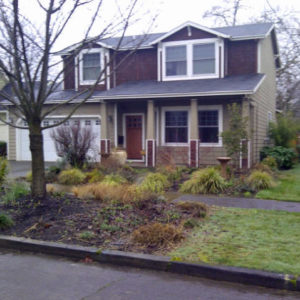 Overlook Neighborhood Home wants a curb appeal landscape design