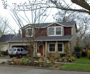 Overlook Neighborhood Home in North Portland with updated columns for curb appeal