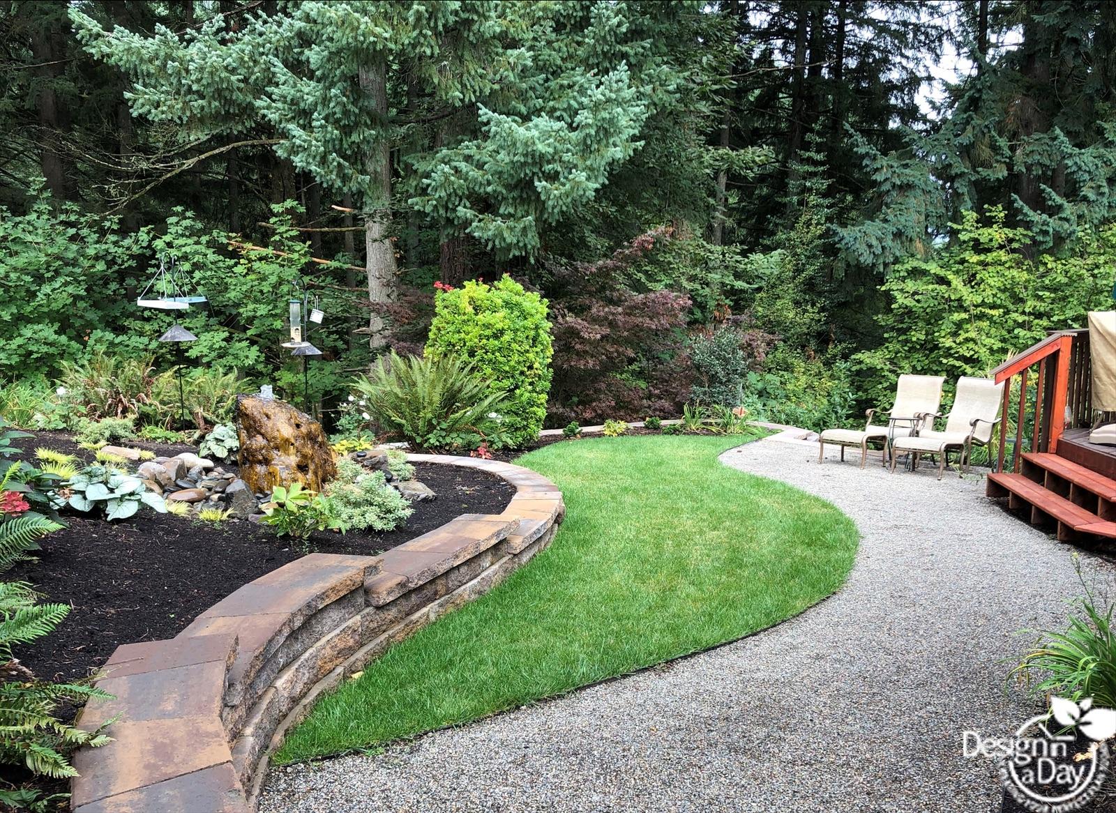 NW Garden design for birds