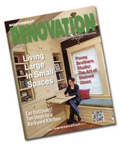 June 2013 NW Renovation Magazine features Portland Oregon residential landscape designer Carol Lindsay.