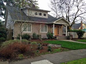 East Moreland Rain Garden low maintenance design in Portland, Oregon