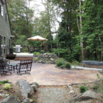 Patio garden design Northwest Portland