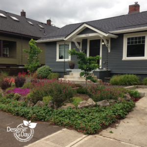 NE Portland Montavilla neighborhood after Landscape Design in a Day