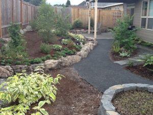 Completed bones of the new garden