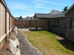 Masterson's backyard on design day