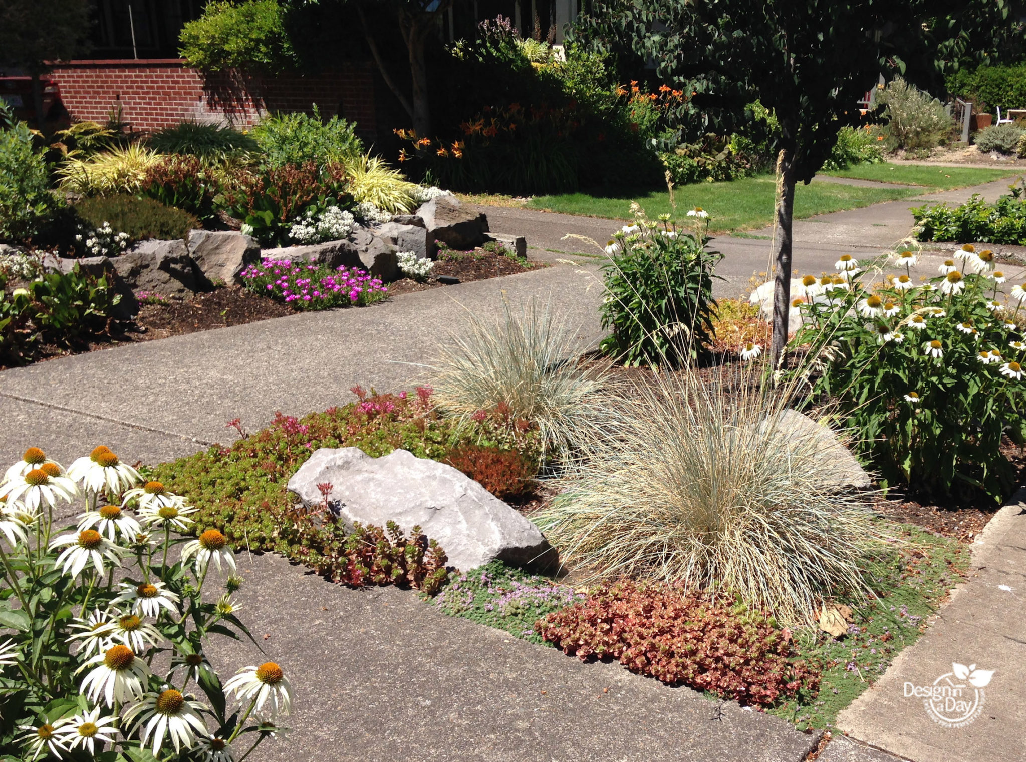 Collaborative Landscape Design for Portland Bungalow ... on
