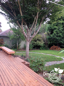 Affordable Landscaping Portland design in residential Woodstock.