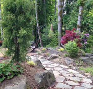Northwest Natural stone path