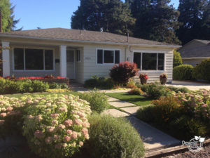 Low maintenance landscape design in St. Johns Portland