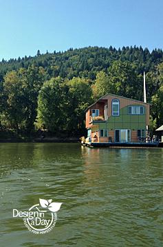 Portland Landscape Designers floating home
