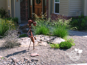 Drought Tolerant Low Maintenance Front Yard Landscape Design In