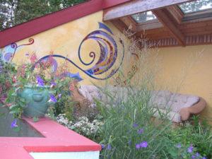 Modern design for Portland roof garden