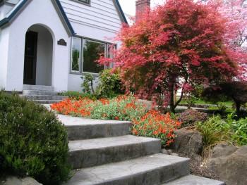 X Garden Design Front Steps Landscape Design In A Day